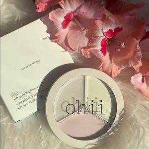 Ohii soft glow highlighter lit from within sheer